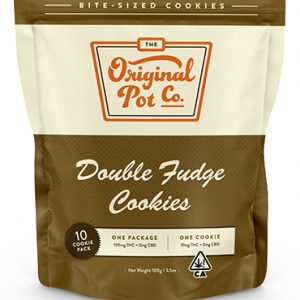 DOUBLE FUDGE COOKIES (10 PACK)