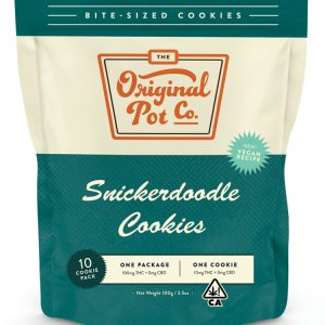 100mg Snickerdoodle Cookies (10 Pack) - Hybrid - Original Pot Co.